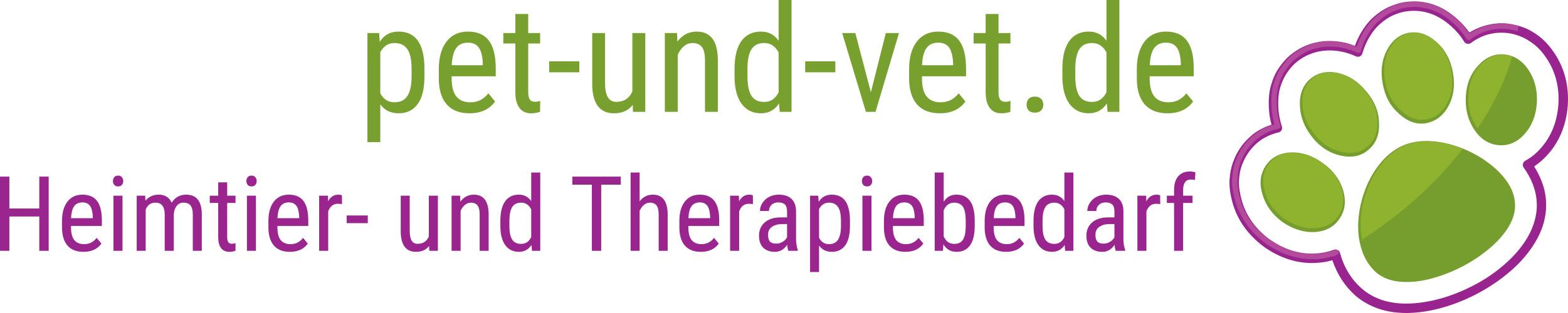 pet-und-vet.de - Heimtier- und Therapiebedarf-Logo