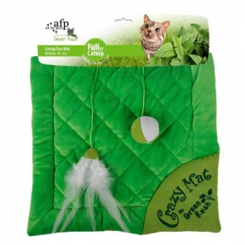 All for Paws Green Rush Crazy Cat Mat