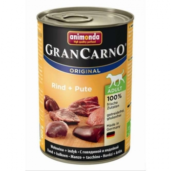 Animonda Dog Dose GranCarno Adult Rind & Pute 400g