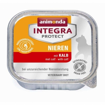 Animonda Cat Schale Integra Protect Niere mit Kalb 100g