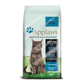 Applaws Cat Trockenfutter Seefisch & Lachs 6kg