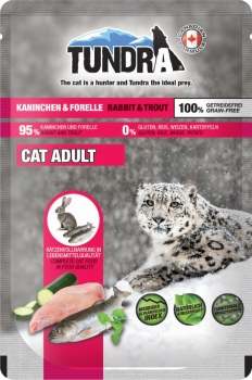 Tundra Cat Kaninchen Forelle 16x85g