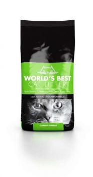 Worlds Best Cat litter GRÜN clumping 12,7 kg