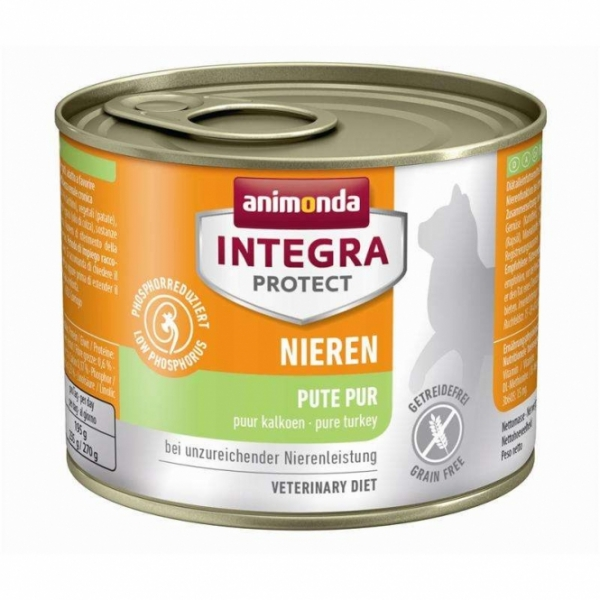 Animonda Cat Dose Integra Protect Niere mit Pute pur 200g