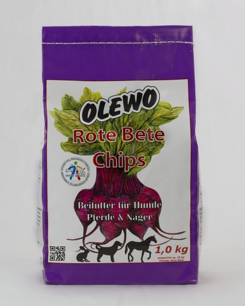 Olewo Rote Bete Chips 1 kg